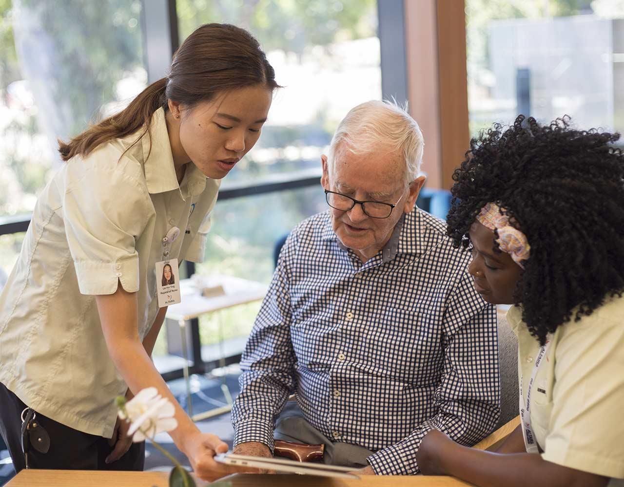 Nursing website design