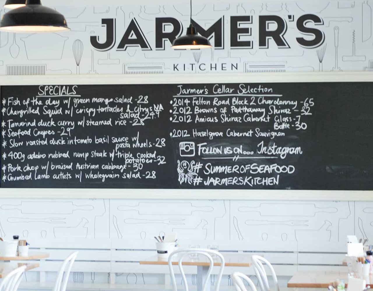 Jarmers Kitchen Website