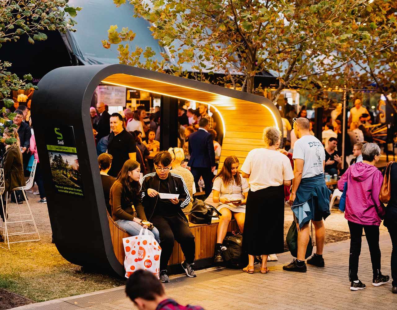 Sedi Urban Smart Furniture